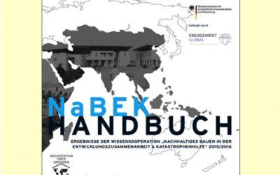 Ergebnisse der Wissenskooperation Nachhaltiges Bauen in der EZ & KH