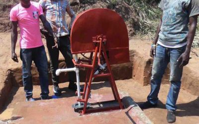 Zwischenstand: Handgebohrte Brunnen für Kikwit-DR Kongo