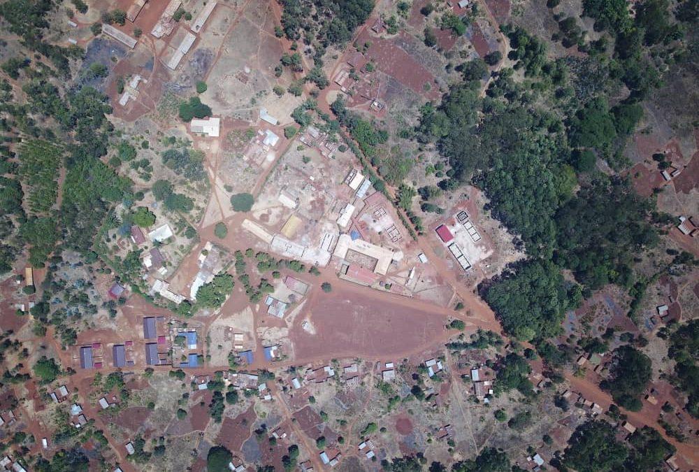 Baufortschritt: Shunga Hospital in Tansania