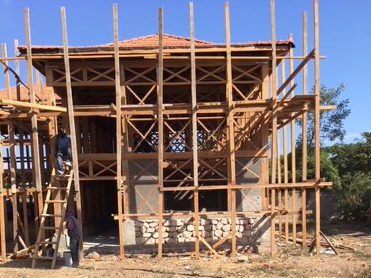 Baufortschritte: Kinderhäuser Schulprojekt Cap Haitien